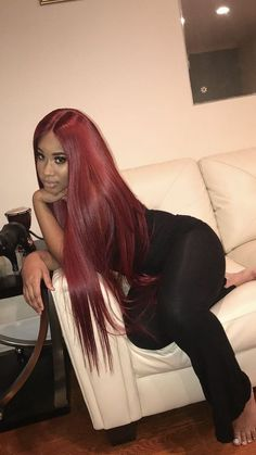 Online Shop Ombre hair color sew in human hair bundles and closure and frontal for brunettes colored hair for black off promotion factory cheap price,DHL worldwide shipping, store coupon available. Red Weave Hairstyles, Black Girls Hairstyles, Straight Hairstyles, Hairstyles Pictures, Easy Hairstyles, Everyday Hairstyles, Quince Hairstyles, Drawing Hairstyles, 1950s Hairstyles