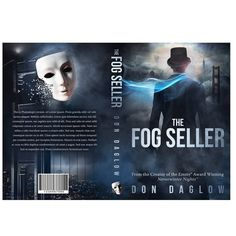 A book cover design created by Proi for 4thRing. Photo compositing creates the dark silhouette of a man shrouded by San Francisco fog. #mystery #thriller #design