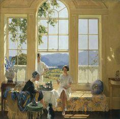 James Durden ~ Summer in Cumberland, 1925 ~ (English: 1878-1964)