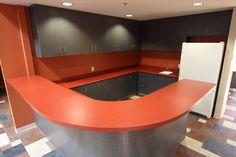 Custom laminate cabinetry and laminate countertops. Brea, CA.