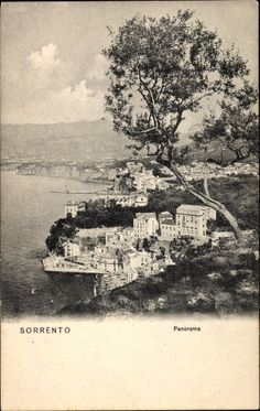Postkarte Sorrento