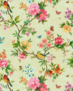 chintz bed linen - I love this fabric!