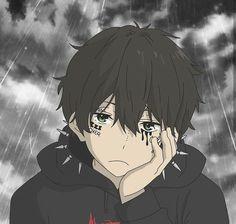 🌸 Astra Garden - Join Our Anime Discord <br> Sad Anime, Kawaii Anime, Manga Anime, Anime Art, Cute Anime Pics, Cute Anime Boy, Anime Boys, Gothic Anime, Animes Emo