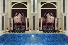 Jumeirah Zabeel Saray Hotel, Dubai - Talise Ottoman Spa - Hammam Relaxation Area
