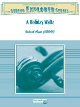A Holiday Waltz by Richard Meyer.  Jingle Bells and We Wish You a Merry Christmas in 3/4 time.