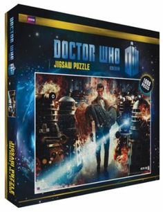 Amazon.com: Doctor Who Flames Television TV 1000 Piece Jigsaw Puzzle: Home & Kitchen
