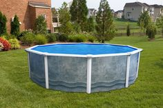 "Namco Monterey | 24 ft Round 52"" Deep Monterey Pool w/Premium Package - NAMCO Pool ..."