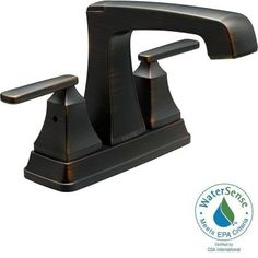 Delta Ashlyn 4 in. Centerset 2-Handle High-Arc Bathroom Faucet in Venetian Bronze-2564-RBMPU-DST - The Home Depot