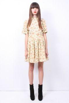 regal print 50s dress / ramona west
