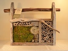 Mason Bee house...this item has sold, but certainly gives me ideas for making my own!