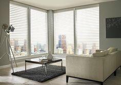 Made to measure Cream Sheer Horizon Blinds | Bolton Blinds