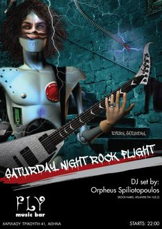#DJ every #Saturday #night @ FLY MUSIC #BAR (Harilaou Trikoupi 41, #Athens, #Greece) - #rock #punk #classic #hard #numetal #crossover #alternative #grunge