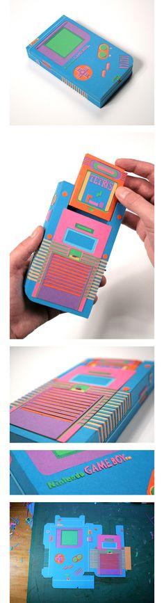 Paper Gameboy