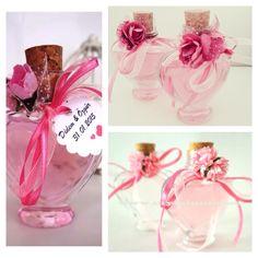 Nişan ve düğün için hazırladığımız renkli kolonya şişeleri www.myminni.com