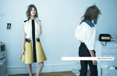 so fucking brilliant - Steven Meisel for Balenciaga after Judy Linn's early portraits of Patti Smith