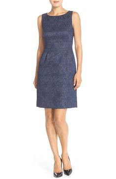 There is a sage option.  Tahar Jacquard Sheath Dress (Regular & Petite) available at #Nordstrom