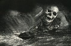 Edgar Allan Poe: MS. Found in a Bottle by Wilfried Sätty (b. 1939)