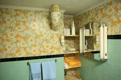 Typical 1950's Bathrooms