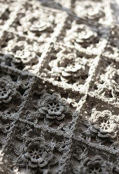 Crochet Rose motifs