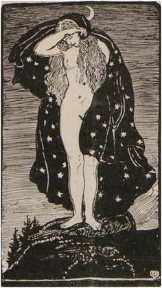 Jugend magazine illustration by Erich Kuithan, 1902