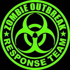 Shop Zombie Outbreak Response Team Neon Green Classic Round Sticker created by ShabzDesigns. Design Exterior, Neon Room, Outline Designs, Round Design, Cthulhu, Round Stickers, Custom Posters, Neon Green, Custom Stickers