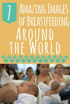 7 Amazing Images of Moms Around the World Celebrating Breastfeeding Awareness Month - The advocacy month was officially declared in August 2011 to call attention to all the ways that breastfeeding can improve the health of an entire nation and to give more families the opportunity to breastfeed #breastfeeding #awareness   whattoexpect.com
