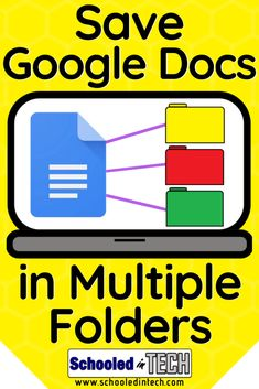 Use this Google Drive tip to save the same Google Doc or other file in multiple folders. This is not a copy, but rather a link to the same Doc. This Google Drive hack is a great organization technique for teachers to use in the classroom. Its a great way for students to organize their Google Drive too. #Google #GoogleDrive #school #Teachers Instructional Technology, Instructional Strategies, Teaching Technology, Educational Technology, Teaching Tools, Google Drive, Google Shared Drive, Google Tricks, Hacks Google