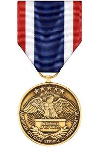 Overseas Service Commemorative Medal Anodized