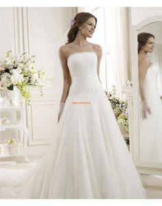 Brillant & Séduisant Sans manches Naturel Robes de mariée 2014