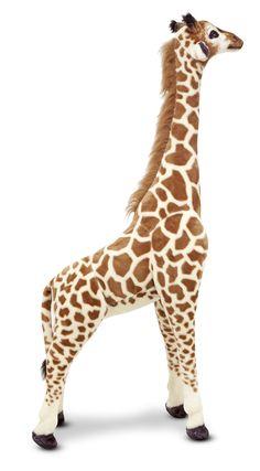Giant Giraffe Stuffed Animal   Melissa & Doug