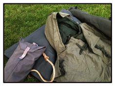 Vintage wool sleeping bag liner/cover - British Army Falklands-era.