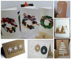 Cmo hacer tu tarjeta de Navidad personalizada Navidad Pinterest