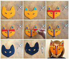 Fräulein Löwenzahn wird Kindergärtnerin: 10 Tiermasken