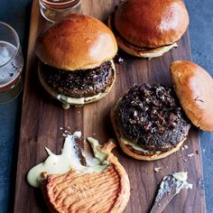 Take your burger game to a whole new level with these Provençal Lamb Burgers that are served with a olive-shallot relish and a spread of bold French soft cheese.
