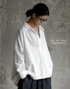 【送料無料】joiedevivreスイスコットンビックスキッパーシャツ