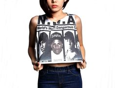 N.W.A Crop tank tops women and girl NWA hip hop shirts by MeFlyMyFreedom on Etsy https://www.etsy.com/listing/234083142/nwa-crop-tank-tops-women-and-girl-nwa