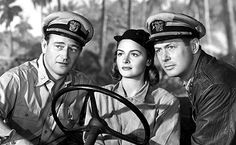 They Were Expendable with John Wayne, Robert Montgomery and Donna Reed