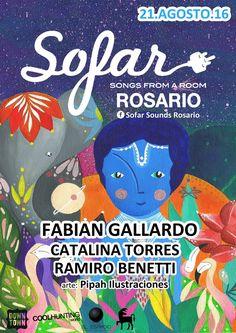 Flyer Sofar Sounds Rosario 2016