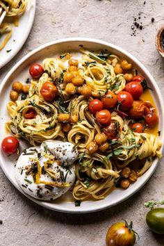 Jammy Cherry Tomato Pasta with Crisp Lemon Rosemary Chickpeas. Jammy Cherry Tomato Pasta with Crisp Lemon Rosemary Chickpeas.,Recetas Jammy Cherry Tomato Pasta with Crisp Lemon Rosemary Chickpeas Healthy Recipes, Pizza Recipes, Vegetarian Recipes, Cooking Recipes, Cooking Pasta, Cooking Tips, Cooking Quotes, Pork Recipes, New Recipes