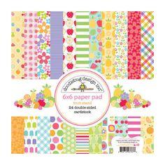 Doodlebug Design - Fruit Stand Collection - 6 x 6 Paper Pad at Scrapbook.com