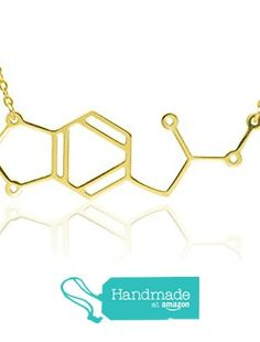 MDMA Molecule necklace gold over sterling silver 925 chemistry jewelry, science jewelry unique handmade jewelry gold filled jewelry, silver necklace solid gold necklace Gold Filled Jewelry, Gold Jewelry, Gold Necklace, Molecule Necklace, Science Jewelry, Handmade Jewelry, Unique Jewelry, Solid Gold, 18k Gold