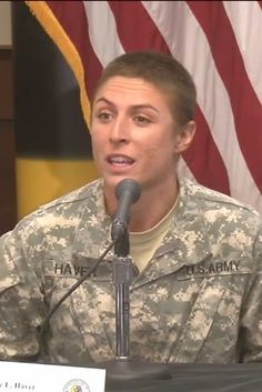 """Capt. Kristen Griest and Lt. Shaye Haver, the 1st 2 women to earn Ranger Tabs, talked about their experiences in the Army Ranger School during a press conference on Thu.- When asked about the possibility of internal pressure to pass the course, Griest said she often thought about """"future generations of women,"""" and wanted them to have this opportunity. Their male counterparts consistently maintained... that both... proved themselves during the 3 rigorous courses..."""