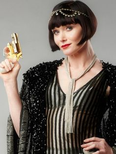 {Essie Davis} Phryne Fisher ~ Miss Fisher's Murder Mysteries