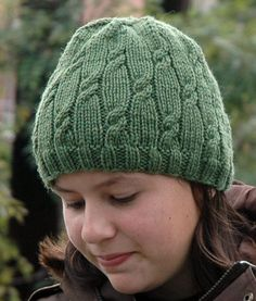 Free Knitting Pattern for Knotted Rib Hat