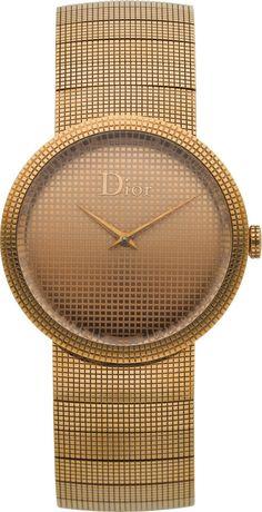 """Christian Dior Lady's Gold """"La D de Dior"""" #Jadore #Dior"""