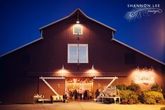 vintage barn wedding reception.