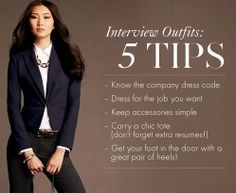 Interview outfit tips