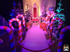 Candy Cane Walkway | Carpet Walkways Hire | Event Prop Hire
