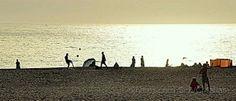 Brincadeiras na praia!