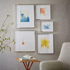 Gallery Frames - Polished Nickel | west elm